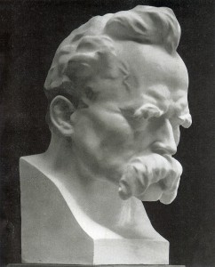 Josef Thorak's portrait of Nietzsche