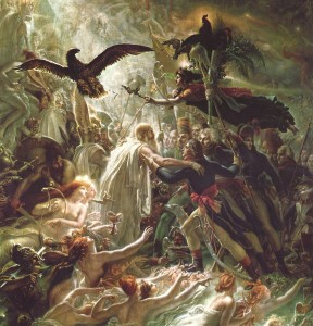 Anne-Louis Girodet de Roucy-Trioson (1767-1824), Apotheosis of the French Heroes Who Died for their Fatherland During the War for Liberty, 1802
