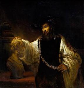 Aristotle-bustofHomer-Rembrandt1653