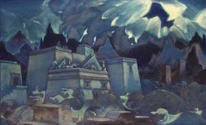 """Nicholas Roerich, """"The Destruction of Atlantis,"""" 1928-29"""