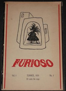 First Copy of Furioso, Summer 1939