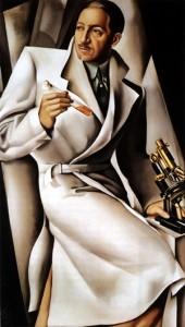 """Tamara de Lempicka, """"Portrait of Dr. ,"""""""