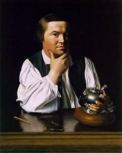 John Singleton Copley, Portrait of Paul Revere, 1768