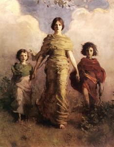 Abbott Handerson Thayer, The Virgin, 1893