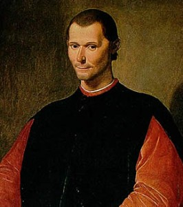 "Niccolò Machiavelli by Santi di Tito: ""I prefer my fatherland to my own soul."""