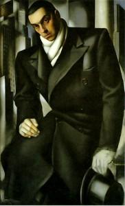Tamara de Lempicka, Portrait de Tadeusz de Lempicka, 1928