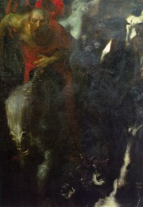 "Franz von Stuck, ""The Wild Hunt"""