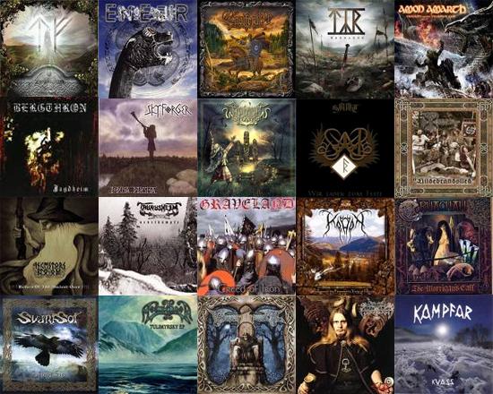 Black Metal album covers