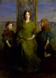 Abbott Handerson Thayer, Virgin Enthroned, 1891