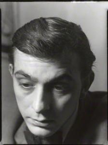 Bill Hopkins, photographed by Ida Kar, 1955