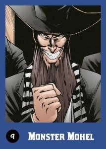 "Obrázok z komiksovej knihy ""Monster mohel"" ( Monštrum mohel)"