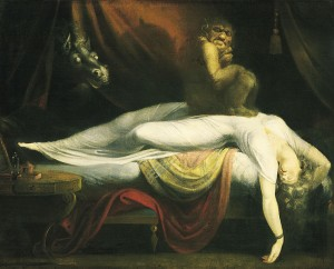 "Johann Heinrich Fuseli, ""The Nightmare,"""