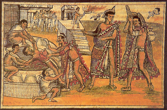 essay on aztec sacrifice The aztec human sacrifices essay - the aztec civilization was a very complex society that was feared and known well for their various gory sacrifices done to please their many gods in their polytheistic religion.