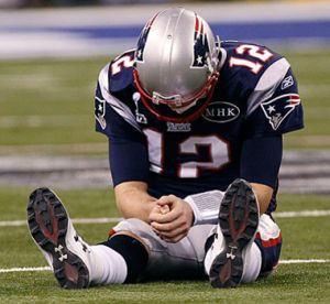 The patriots lost
