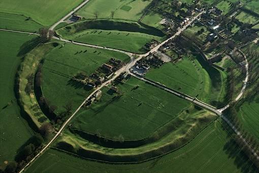 Avebury Henge, Wiltshire, southwest England