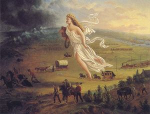 "John Gast, ""Manifest Destiny,"" 1872"