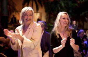 Marine Le Pen and her niece Marion Maréchal-Le Pen