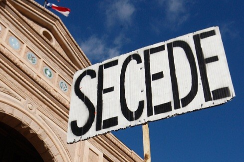 As secession movements all over the world gain force, it's reasonable to assume those feelings will come to the US.