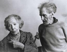 Olga Rudge and Ezra Pound