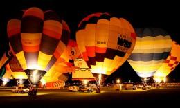 Hot air balloons at Waikato University