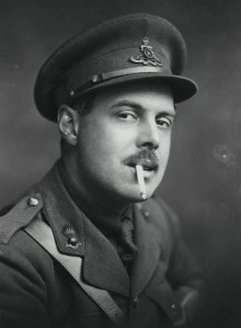Wyndham Lewis in 1917