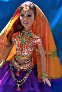 """""""Full-time mom Nandini Zaldivar has put her creativity to use in transforming Barbie—the ultimate material girl—into a devoted Gopi doll that's the perfect role model for ISKCON children."""""""