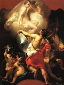Gaetano Gandolfi, Venus in the Forge of Vulcan, c. 1770-5