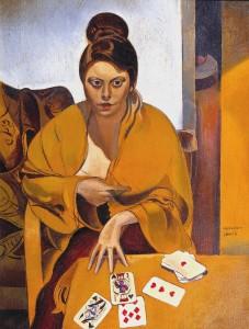 "Wyndham Lewis, ""La Suerte,"" 1938"