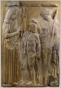 Great Eleusis Frieze, Eleusis Museum, Greece, late 5th c. BCE