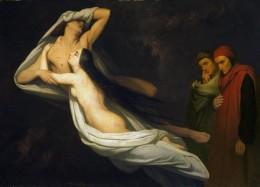 "Ary Scheffer, ""Francesca da Rimini,"" 1854"