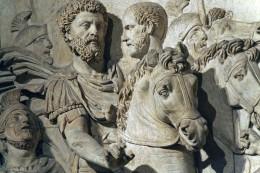 Clemency of Marcus Aurelius, detail, Capitoline Museum
