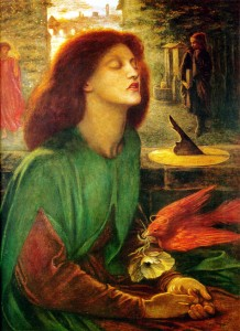 "Dante Gabriel Rossetti, ""Beata Beatrix,"""