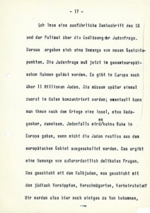 The characteristic large typescript of the later entries