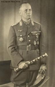 The Desert Fox: Field Marshal Erwin Rommel with baton