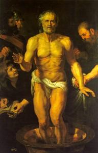 "Peter Paul Rubens, ""The Death of Seneca,"" c. 1615, Museo del Prado, Madrid"