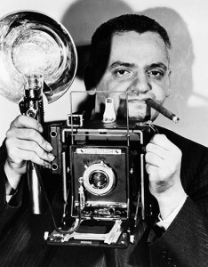 Weegee (New York tabloid photographer Arthur Fellig)