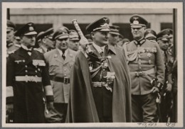 German Luftwaffe General Field Marshal Göring reviews his troops, Berlin, March 1, 1939