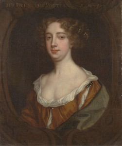 Portrait of Aphra Behn by Peter Lely, circa 1670