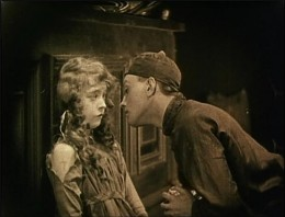 Modern-day Romeo & Juliet: 15-year-old Lucy (Lillian Gish) and the Yellow Man (Richard Barthelmess) belong together