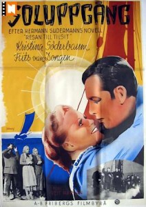Poster for the Swedish release of Die Reise Nach Tilsit