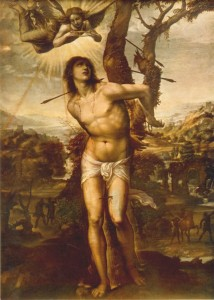 "Il Sodoma, ""The Martyrom of Saint Sebastian,"" c. 1525"