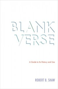 Blank Verse book cover