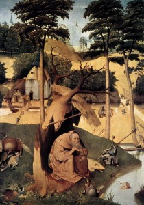 "Hieronymous Bosch, ""The Temptation of Saint Anthony"""