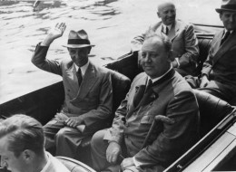 Joseph Goebbels with Emil Jannings