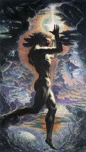 "Jean Delville, ""Prometheus,"" 1907"