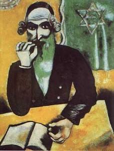 "Marc Chagall, ""The Rabbi"""