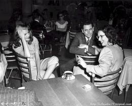 Virginia Van Upp, R., with Rita Hayworth and Glenn Ford