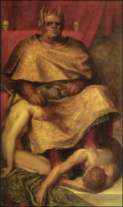 "George Frederic Watts, ""Mammon"""