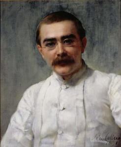John Collier, Portrait of Rudyard Kipling, circa 1891