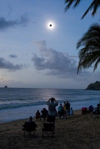 Image: Solar eclipse